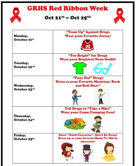 Red Ribbons Week