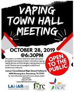 Vaping Meeting