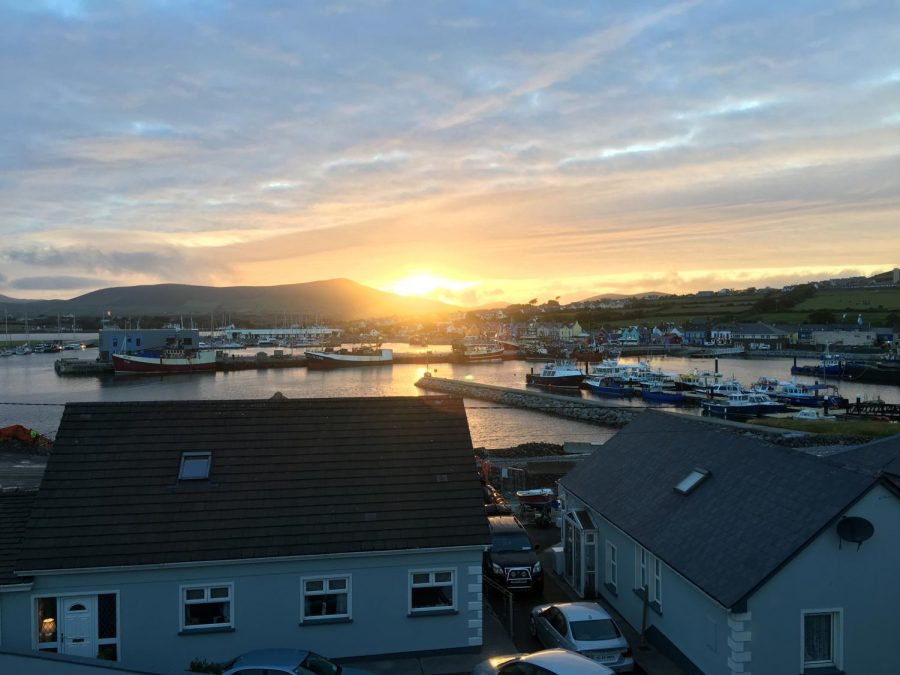 View+from+our+AirBnb+in+Dingle%2C+Ireland-+a+beautiful+little+town+right+on+the+coast.