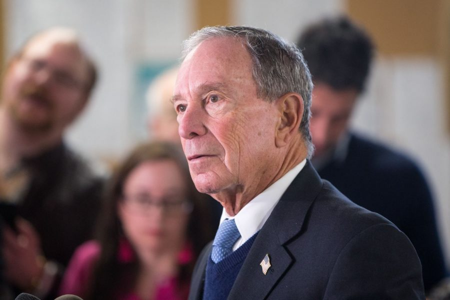 Mike+Bloomberg+is+financing+his+owm+campaign+and+ads+for+the+election.