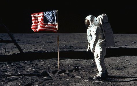 Image from the Apollo 11 mission which Dwight was suppose to be apart of.