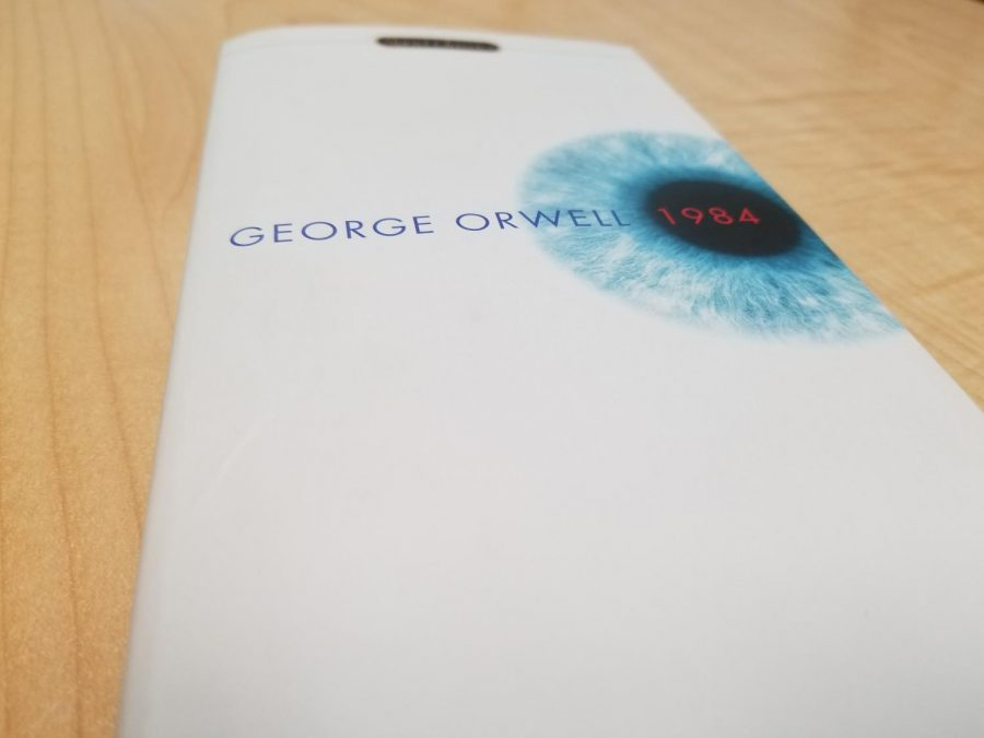 George Orwell's novel, 1984, is set in a dystopian society where
