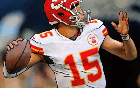Patrick Mahomes is number 15, the quarterback for the Kansas City Chiefs.
