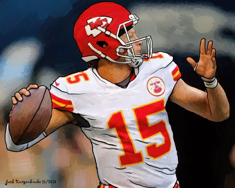 Patrick Mahomes- Our Texan Quarterback