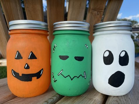 These fun face lanterns are easy and fun to make DIY.