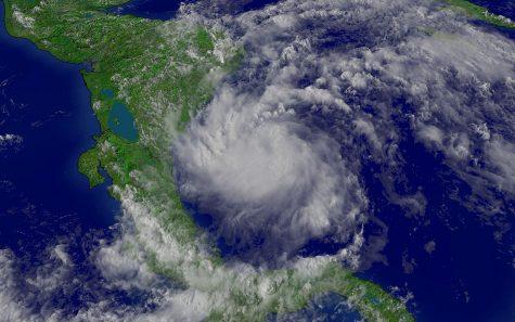 Hurricane Beta is approaching the coast of Texas.
