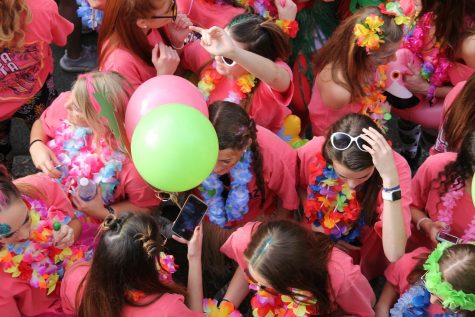Students continue to host large parties with  a higher risk of catching the virus.