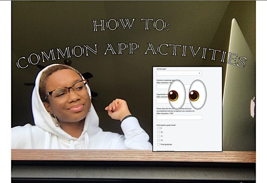 How to Arrange Your Activities in Common App