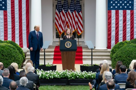 President Donald J. Trump nominates Amy Coney Barrett for the Supreme Court.