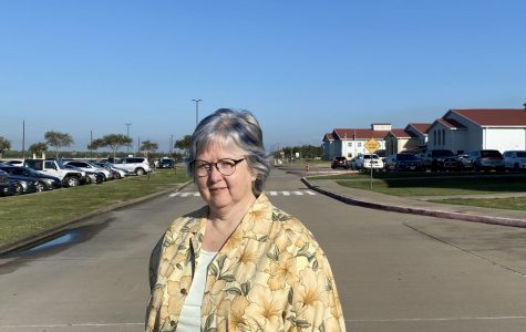 Mrs. Colleen Kroeker one of the founding teachers that helped opened George Ranch and now the leader of newspaper.