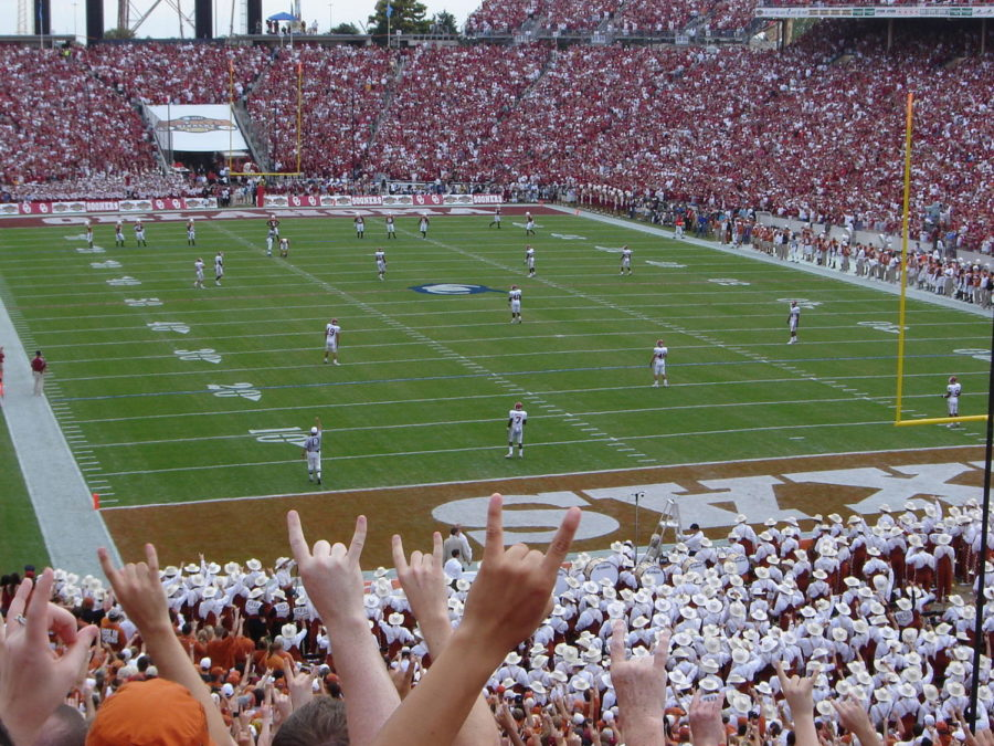 Kick off on the 2007 Red River Rivalry in Dallas Texas, where OU beat Texas 28-21.