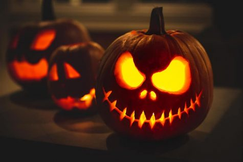 The traditions of carving Jack-o-Lanterns comes from beliefs that their faces would scare unwanted souls away.