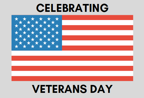 Veterans Day honors the millions of veterans in the United States that have risked their lives for the safety of our country.