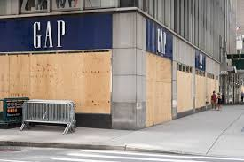Stores in many big cities are boarding up storefronts with plywood and chaining up doors in anticipation for election riots.