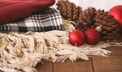 A shot of Christmas related items in your home can show how joyful the holidays can still be.