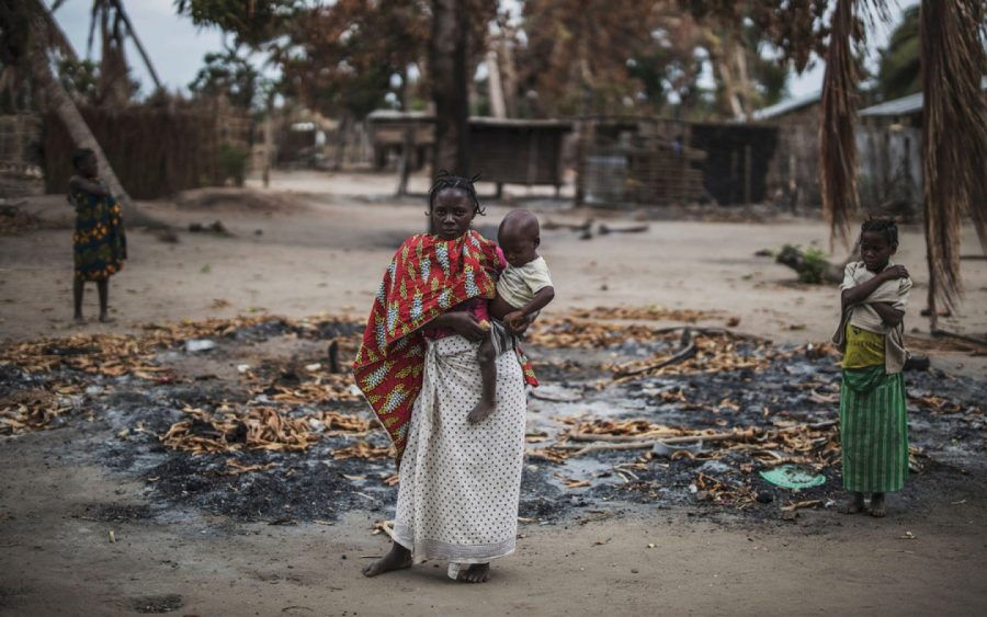 Hundreds of thousands of people are losing their homes as the Islamic State gains further control of Mozambique.