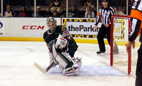 Matt Hackett, the Houston Aeros goalie for three years
