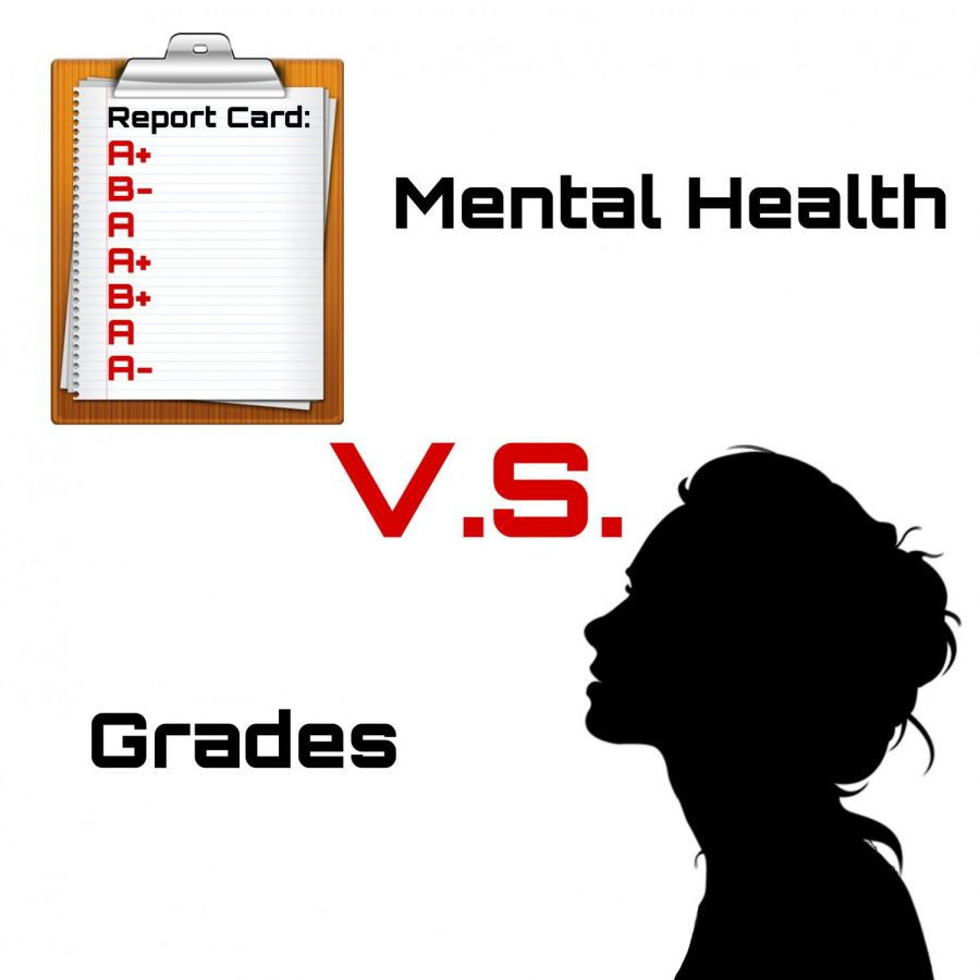 Mental health and grades are constantly battled between each other.