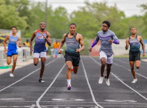 Grant Celestine (12) won the district title in the boy
