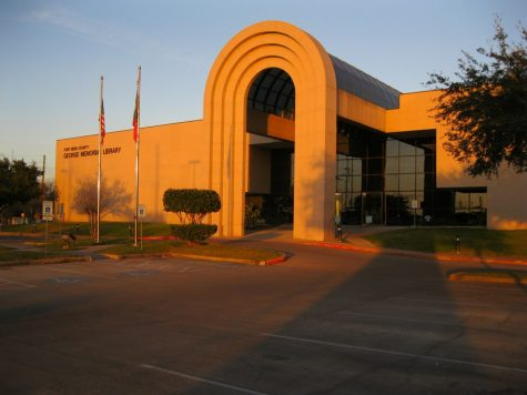 The George Memorial Library is located in Richmond TX  1001 Golfview Dr, Richmond, TX 77469