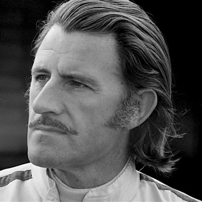 photo of Graham Hill, the only Triple Crown winner.