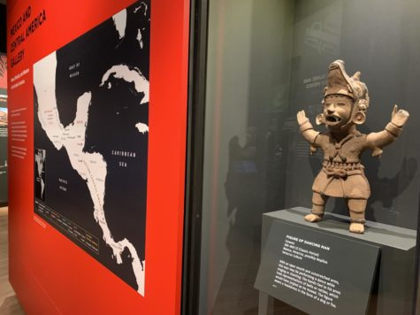 At Penn Museum, Pennsylvania a series of artifacts from Mexico and Central America are on display.